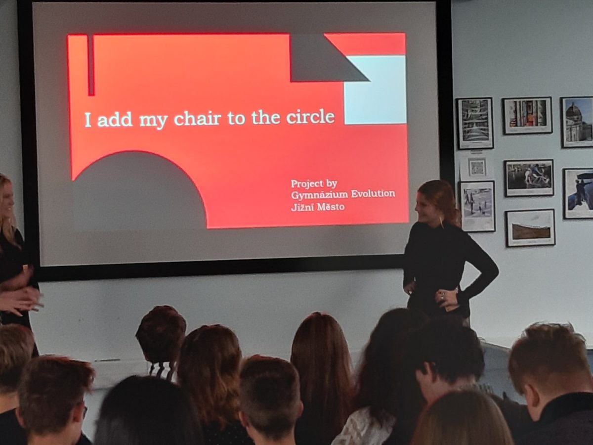 """I Add My Chair To The Circle"" campaign at International School of Prague"